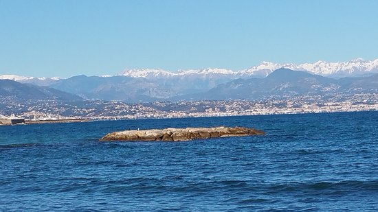 Nice Cycle Tours : Très beau paysage de la Côte d'Azur