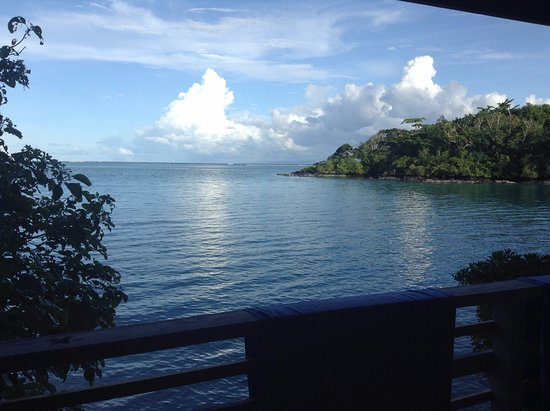 Lusia's Lagoon Chalets : The view