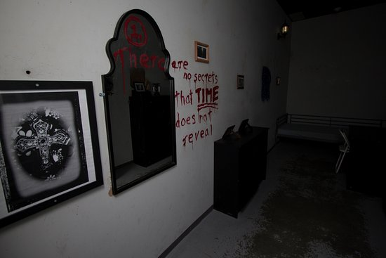 Richmond, Kanada: A room with blood on the wall...