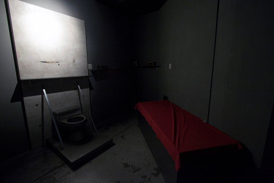 Richmond, Canada: Fancy yourself in a prison cell?