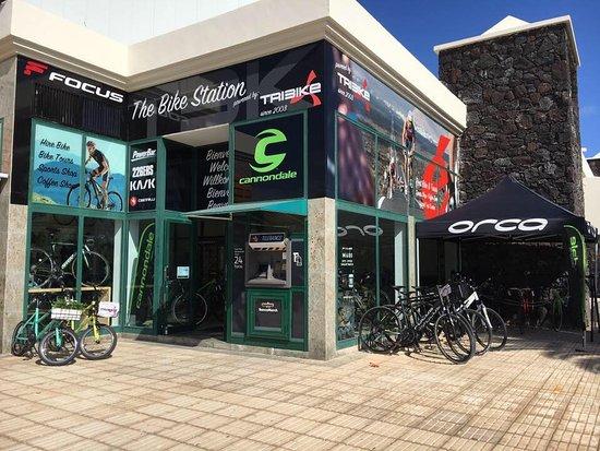 Tribike, The Bike Station
