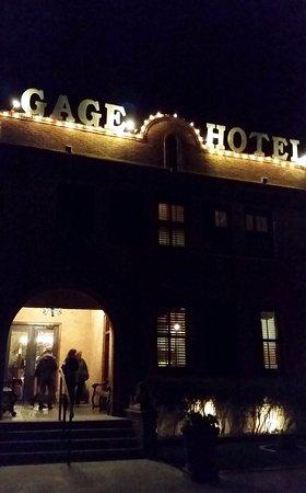 Marathon, TX: The adjacent historic Gage Hotel.