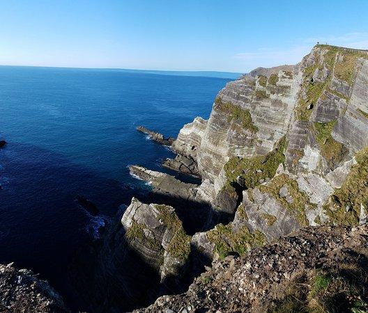 Portmagee, Ireland: Kerry Cliffs.