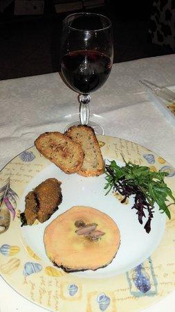 Cuves, ฝรั่งเศส: Foie gras et chutney