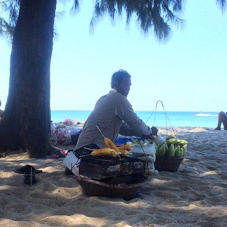 Dusit Thani Laguna Phuket: Corn on the beach bbq