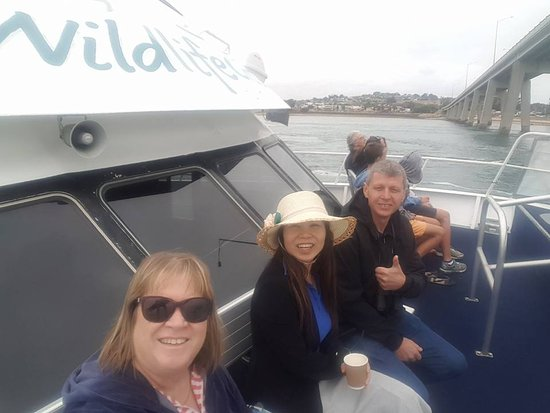 Cowes, Australien: Enjoying the cruise