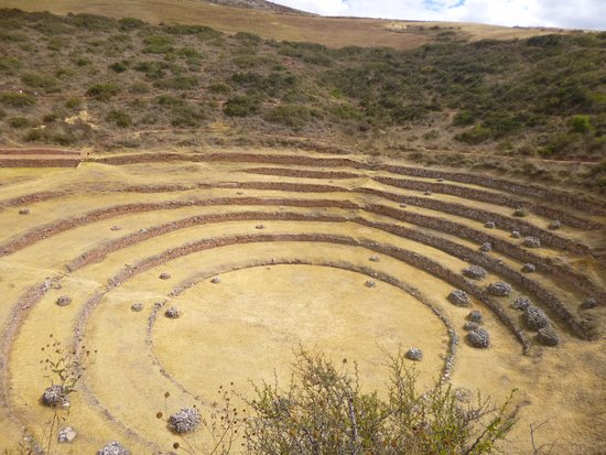 Maras, Perú: Terrazas