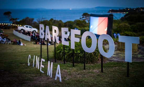 Portsea, Australia: Barefoot Cinema is more than just a movie!