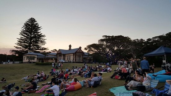 Portsea, Australia: The beautiful and historic Commanding Officer's House in the background.