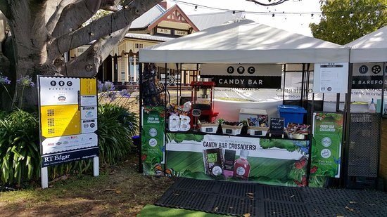 Portsea, Australia: You can find delicious chocolates, lollies and popcorn from the Barefoot Candy bar!
