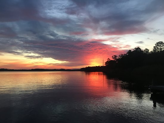 Niceville, Floryda: View From Boat Launch.