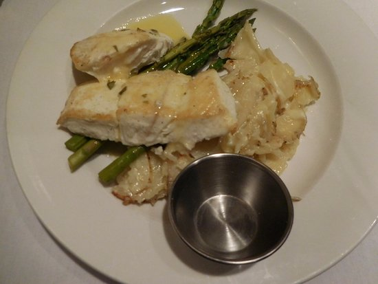 Alta, UT: the halibut entree