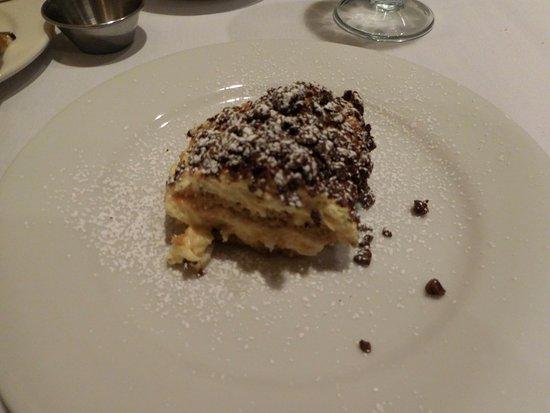 Alta, UT: tirimisu dessert