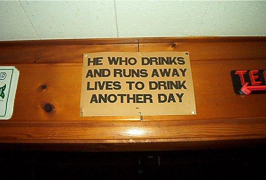 Avon, MN: an old original sign still hanging