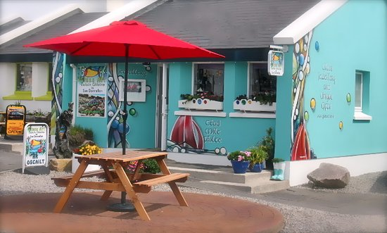 Spiddal, Irland: Glass Craft Studio outside