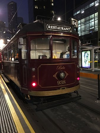 South Melbourne, Australia: Restaurant Tram