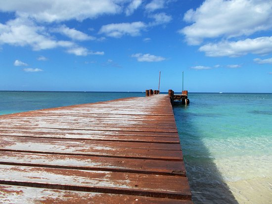 Royal Level at Occidental Cozumel: The pier