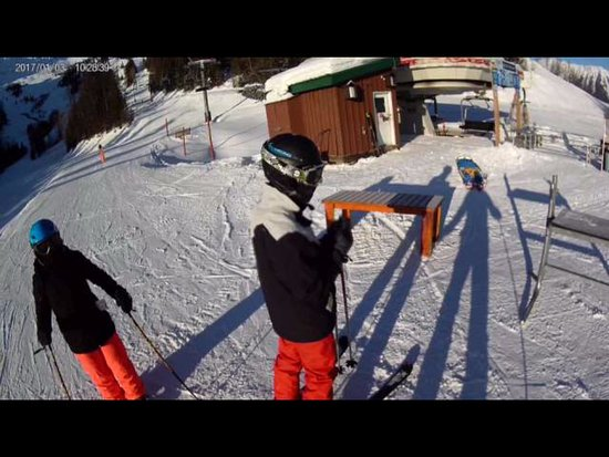 Ферни, Канада: TOP OF THE GREAT BEAR EXPRESS QUAD
