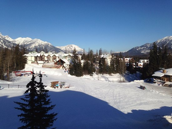 Fernie, Kanada: VIEW FROM OUR DECK