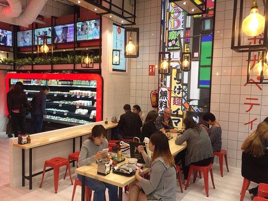 Nigiri princesa madrid arg elles restaurant for Ibis paseo del prado