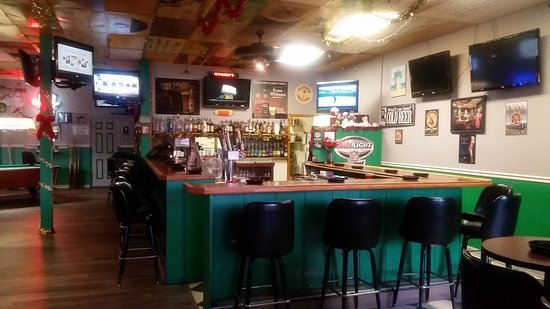 Conway, SC: Bar area after new floor put in.