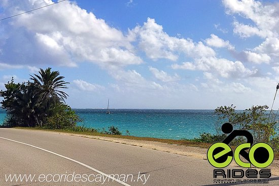 East End, Grand Cayman: Windy days with ECO Rides Cayman