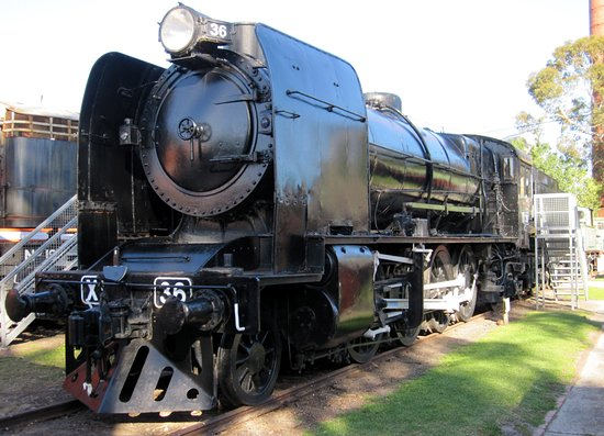 Williamstown, Australia: X 36: its proposed scrapping in 1961 was the catalyst for the establishment of the railway museu