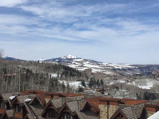 Mountain Village, Kolorado: View from hotel