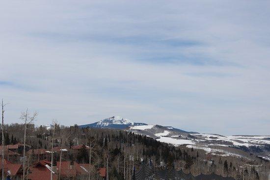 Mountain Village, Kolorado: View from oxygen bar area