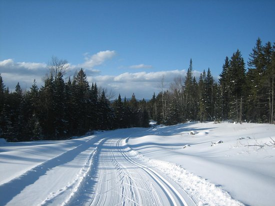 Rangeley, ME: Taken a few years ago right after a good snowfall