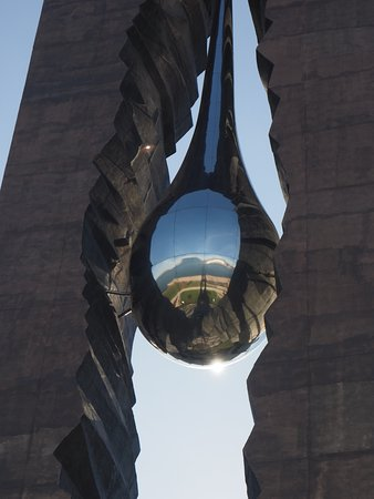 Bayonne, NJ: Teardrop memorial