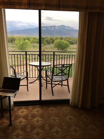 Hyatt Regency Tamaya Resort & Spa: Storm coming over mountains