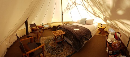 Clarence Point, Australia: Our glamping tent...