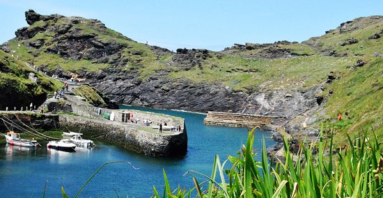 Boscastle, UK: You can see why
