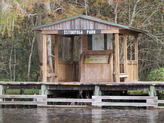 Sebring, FL: Nice kiosk with fishing info