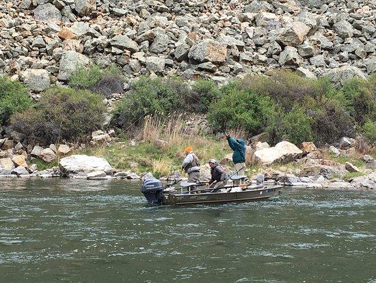 Butte, Μοντάνα: Hooked up! Jet boat trip Missouri River Montana