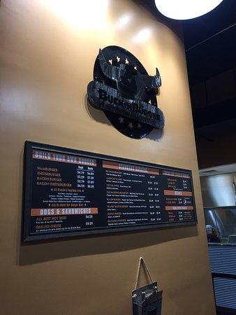 Newark, OH: Donut burger and Bacon Cheeseburger