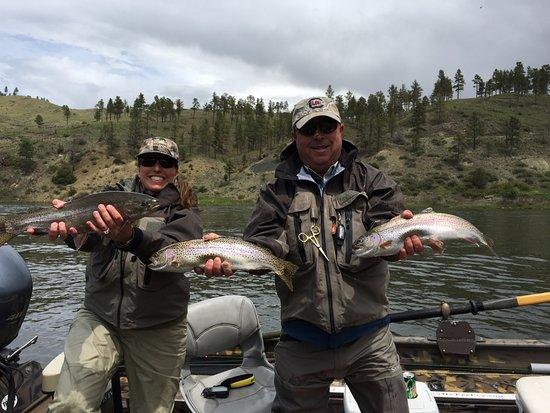 Butte, MT: Triple on the Missouri River jet boat trip
