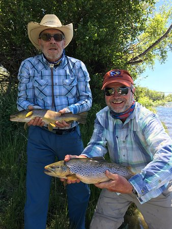 Butte, MT: Double on the Salmon Fly dry fly, Madison River, Ennis Montana