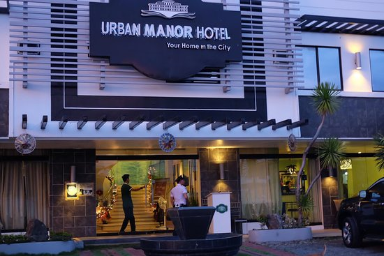 Urban Manor Hotel : exterior of the hotel