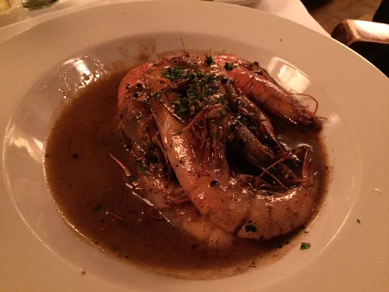 Mr. B's Bistro: Barbecued shrimp in delicious buttery sauce