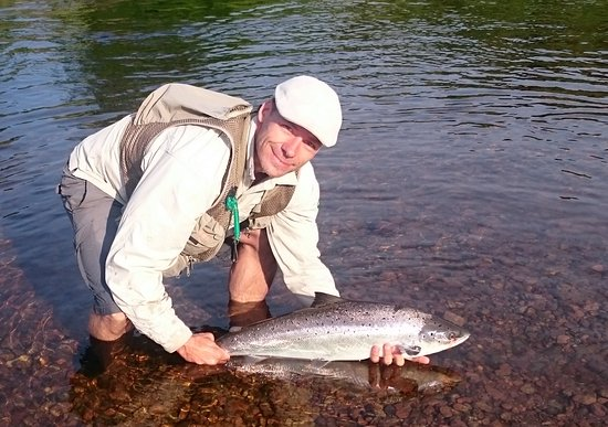 A Great Day Fishing: Atlantic Salmon