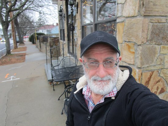 East Providence, RI: That is Louis standing in front of Morning Star Bakery.