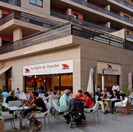 La Table Du Marche Carre Eden Marrakech Restaurant Reviews