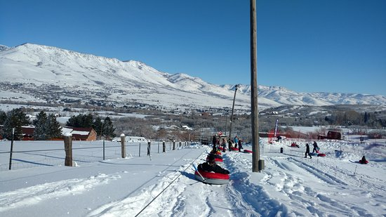 Eden, UT: Tow up the hill