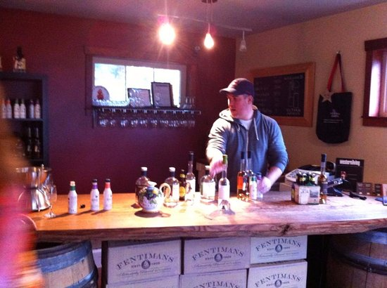 Sidney, Canadá: Gin and vodka tasting