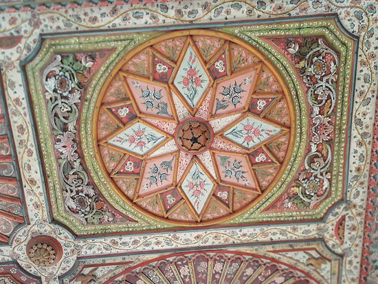 Algier Kasbah: Ceiling in a palace (Algiers Casbah)