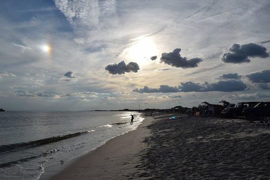 Babylon, Estado de Nueva York: Beach Near Sore thumb