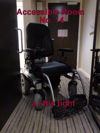 Ashington, UK: Accessible Room No. 14