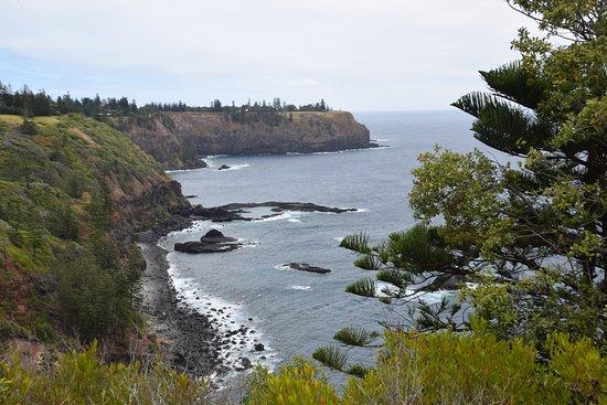 Isla Norfolk, Australia: Photo of Cpt. Cook's landing place